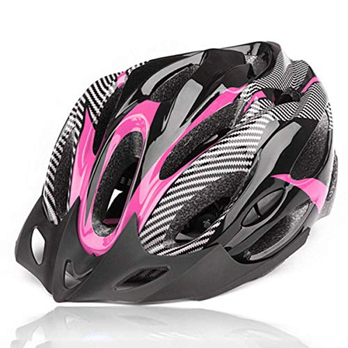 CHRONSTYLE Fahrradhelm, Unisex Erwachsenen Leichtgewicht Schutzhelm Fahrrad Helm mit 21 Belüftungsöffnungen, abnehmbare Visier und Einstellbares Radsystem Fur Herren...