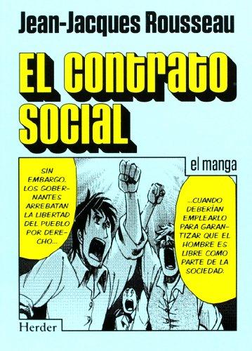 Contrato social, el (HERDER) por JEAN-JACQUES ROUSSEAU