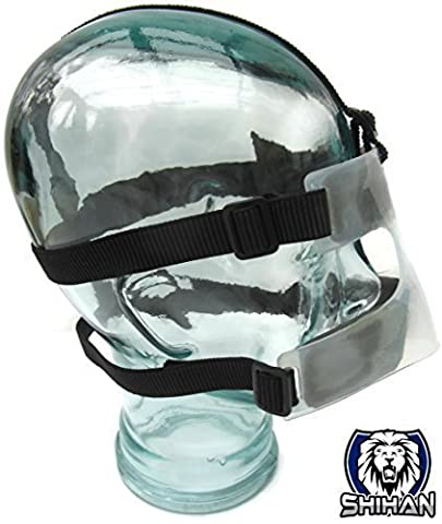 Cage Fighting Shihan Bjj NOSE GUARD , MMA Grappling,Wrestling , Rugby , JUDO, Wrestling , Marines Training Budo Training NOSE Protection by SHIHAN POWER-SPORTS