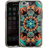 Apple iPhone 6 Bumper Hülle Bumper Case Schutzhülle Batik Mandala Abstrakt