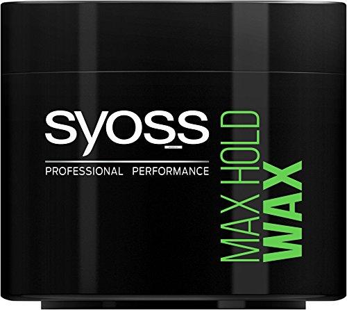 Syoss Max Hold Power Wax, Haltegrad 5, Mega stark, 6er Pack (6 x 150 ml)