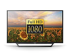 Sony Bravia KDL-40RD453 40 inch HD TV with Freeview, HDD Recording and USB Playback (2016 Model) - Black (Certified Refurbished)