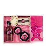 Le Body Shop Skin Coffret Cadeau Set-Shea-Moringa-Mango-Strawberry-Fuji Green Tea-Coconut-British Rose-Pinita Colada- (British Rose)