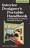 Scarica Libro Interior Designer s Portable Handbook First Step Rules of Thumb for the Design of Interiors McGraw Hill Portable Handbook by John Patten Pat Guthrie 2012 02 01 (PDF,EPUB,MOBI) Online Italiano Gratis
