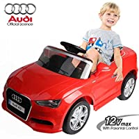 Questa favolosa auto elettrica per bambini, fedele riproduzione di una Audi A3 è un prodotto all'avanguardia che identifica uno stile sia sportivo che elegante, presentando un carattere di grande qualità e sicurezza. Questa baby car è una macchina am...