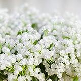 Never-hu Kunstblumen Schleierkraut Blumenstrauß Dekorative Blumen Arrangement Tisch Hochzeit Party Deko - 3