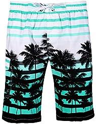 APTRO Maillot de Bain avec Slip Filet/Poches Shorts Casual de Bain/Plage/Surf/Sport/Pyjama Homme