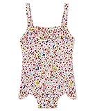Petit Bateau Baby-Mädchen Belinda Badeanzug, Mehrfarbig (Marshmallow/Multico 01), 86 (Herstellergröße: 18M/81cm)