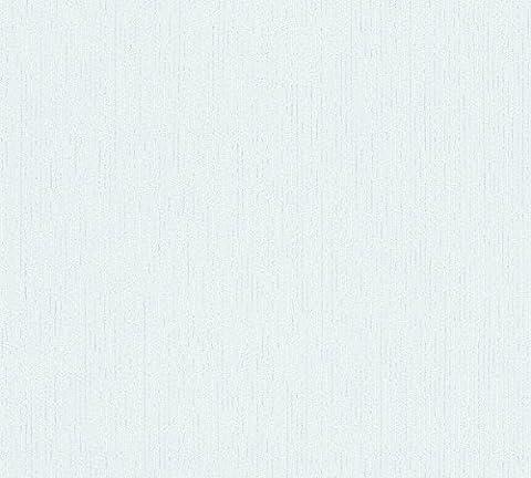 Tapete SCHÖNER WOHNEN Uni Struktur Einfarbig Vinyltapete blau 32453-3