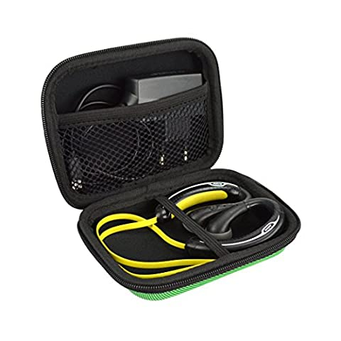 Sports Wireless Bluetooth Headset Carrying Case, Fit Jabra Sport Plus, Pulse, Step, Rox, Sony MDRAS200, MDR-J10, MDR-AS200 / Sweat Proof Wireless Workout Earbuds Carrying Case