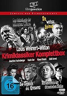 Louis Weinert-Wilton - Krimiklassiker Komplettbox (Der Teppich des Grauens / Die weiße Spinne / Das Geheimnis der schwarzen Wit