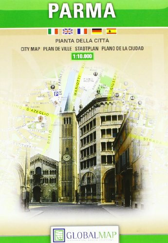 Parma 1:10.000 (Piante di città) por Litografia Artistica Cartografica (LAC)