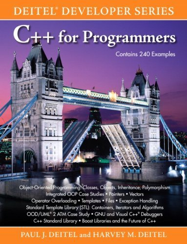 C++ for Programmers 1st edition by Deitel, Paul, Deitel, Harvey M. (2009) Paperback