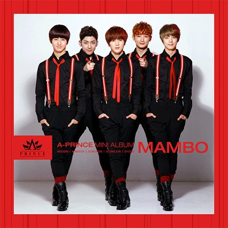 Kpop CD, A-Prince - Mambo (Poster