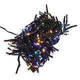 Smartfox 576 LED Büschel Cluster Lichterkette Weihnachten Garten Party Beleuchtung Deko für Innen und Außen in multicolor und 8 Leuchtprogrammen