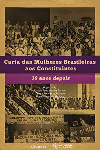 Carta das Mulheres Brasileiras aos Constituintes: 30 anos depois (Portuguese Edition) book cover