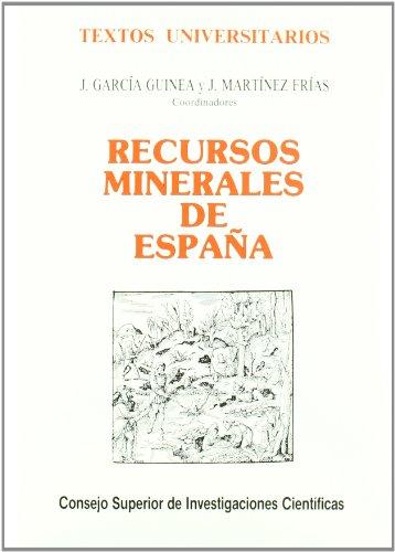 Recursos minerales en España (Textos Universitarios)