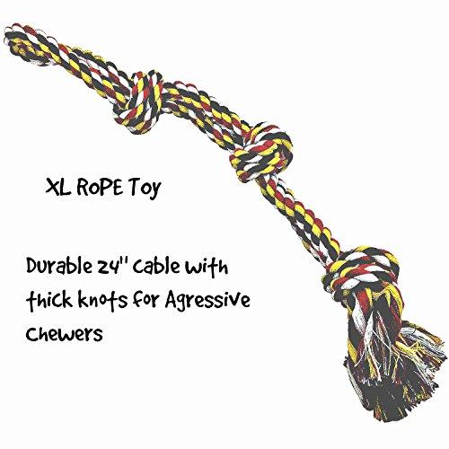 XL-Chien-Jouet-Corde-pour-Agressifs-Mastiqueurs-Coton-solide-epais-de-n
