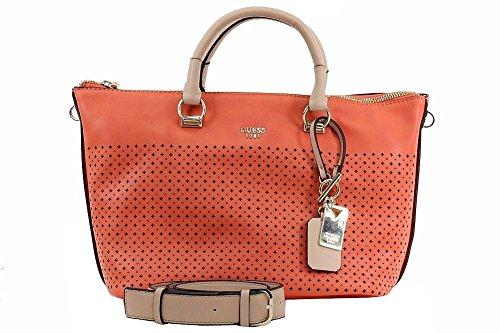Sacs - Maroquinerie, couleur Orange , marque GUESS, modÚle Sacs - Maroquinerie GUESS HWVP62 Orange corail