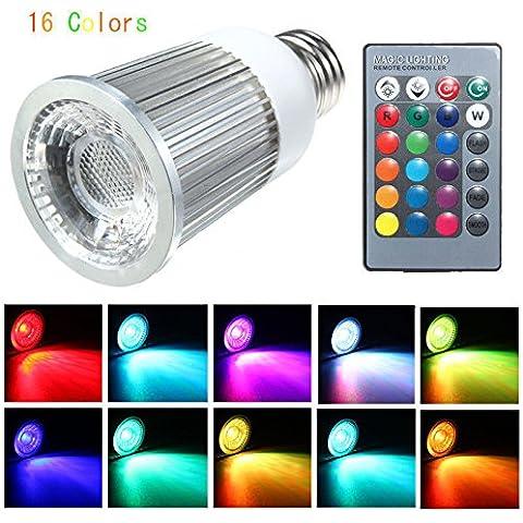 NEW E275W Lampadina LED RGB Multi Colore