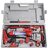 FDS 4 Ton Porta Power Hydraulic Jack Body Frame Repair Kit Car Tool Heavy Set
