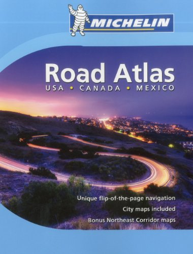Michelin Road Atlas: USA, Canada and Mexico