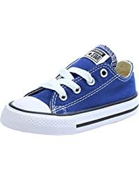 Converse Chuck Taylor All Star Ox Roadtrip Blue Textile Baby Trainers