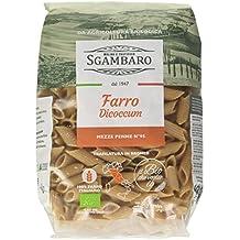 Sgambaro Farro Dicoccum Mezze Penne Rigate, No. 95 - 500 gr - [confezione da 8]