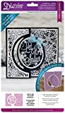 Die'sire Create a Card Sparkling Snowflakes Decorative Panel