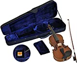 Steinbach Sv - 15014 Lh Gaucher Violin Set 1/4 Jeu De Violon ? La Main, Y Compris étui Et Archet