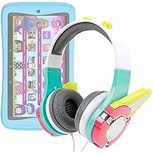 DURAGADGET Auriculares mágicos para niños para Tablet clan Lunnis de Leyenda - CEFATRONIC . Colores divertidos. Diseño transformers.