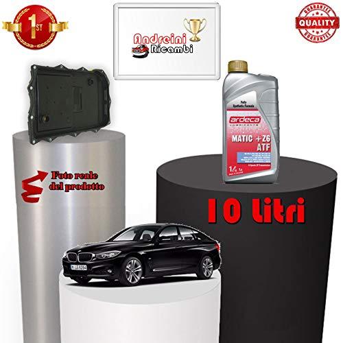 KIT FILTRO CAMBIO AUTOMATICO E OLIO SERIE 3 GT F34 318 D 105KW 2013 -> |1098