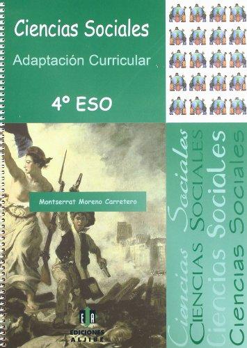 Ciencias sociales: 4º de eso adaptación curricular
