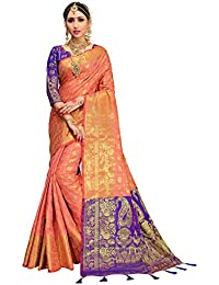 62c61a97da HEART N SOUL Indian Bollywood Sarees for Women Patola Silk Woven Saree l  Tradional Wedding Wear Sari…
