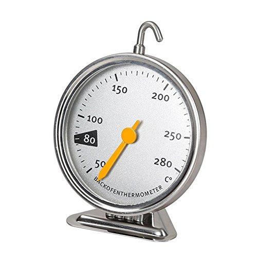 GuDoQi Edelstahl Mechanische Backofen Thermometer Backenwerkzeuge 50°C to 280°C
