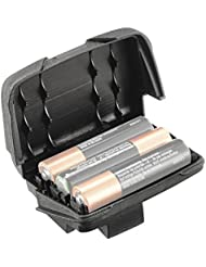 Petzl Erwachsene Batteriefach Reactik +, Schwarz, Standard