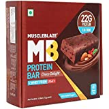 MuscleBlaze Protein Bar (22g Protein)-Chocolate Delight (Pack Of 6)