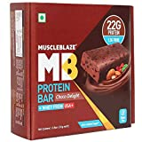 MuscleBlaze Protein Bar, Chocolate Delight, 22g Protein (Pack of 6)
