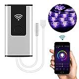 Vingtank WiFi Wireless-LED-Smart-Controller RGB LED-Streifen Licht Arbeit mit Amazon Alexa & Google Home, Unterstützung IOS & Android-Betriebssystem APP-Steuerung mit Musik / Timing-Funktion