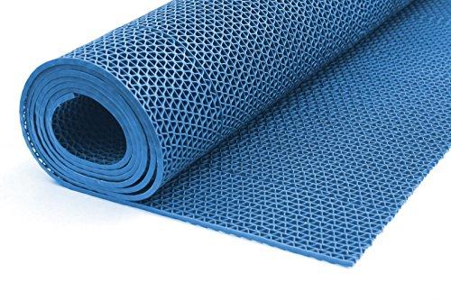 Onpira Bodenmatte in 3 Farben Saunaläufer Duschmatte Antirutschmatte Meterware 90 und 120 cm (90cm...