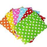13*18cm 150 Pezzi Sacchetti Bustine di Carta Borse per Alimenti Cibo Dolci Regalo Caramella Biscotti Gioielli Paper Bags
