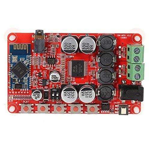 Lanbowo TDA7492P Aux 50W 2 Kabellos Bluetooth 4.0 Audio-Receiver Digitaler Verstärker Brett 8 Digital-verstärker