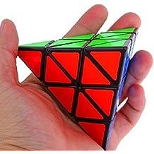MMRM 1Pc 3x3x3 pequeña pirámide cubo mágico triangular rompecabezas juguete de plástico