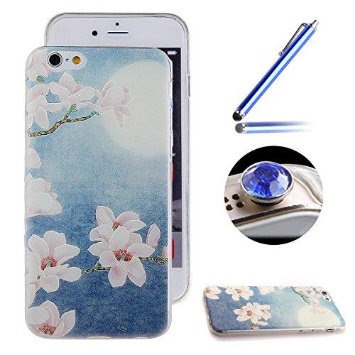 Etche Boîtier en caoutchouc pour iPhone 5/5S,Cas de TPU pour iPhone 5/5S,Coque pour iPhone 5/5S,Colorful série Imprimé Housse de la peau de pare-chocs TPU Soft en caoutchouc de silicone pour iPhone 5/ TPU #4