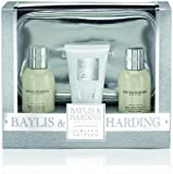 Baylis and Harding Jojoba Silk and Almond Oil Lux Bag Set
