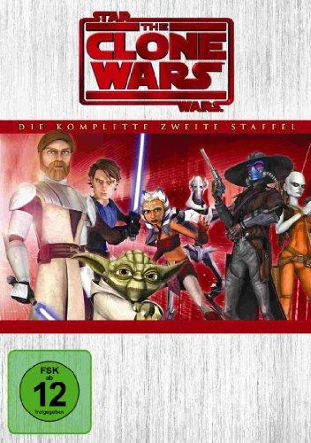 Bild von Star Wars: The Clone Wars - Die komplette zweite Staffel [4 DVDs]
