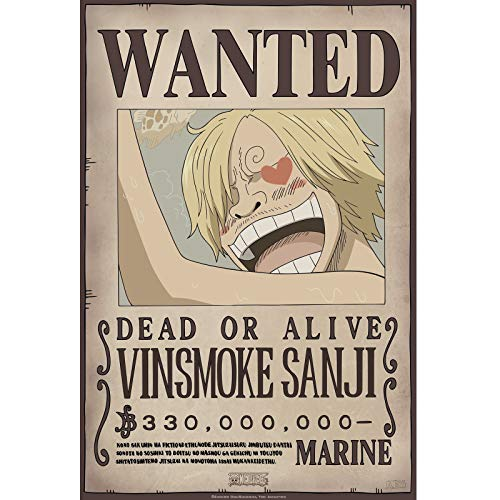 ABYstyle- One Piece - Poster - Wanted Sanji New 2