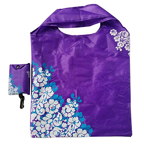 RayLineDo-Expandable-blue-and-white-Shopping-Bag-Reusable-Grocery-Shopping-Tote-Bags-Convenient-Grocery-Handy-Bags-Shopping-Travel-Bags-7-PACK