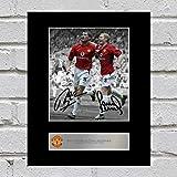 Signiertes Foto von Roy Keane und Paul Scholes, Manchester United FC