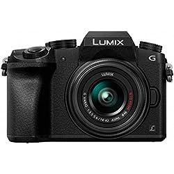 Panasonic Lumix DMC-G7/DMC-G70 14-42 / 3.5-5.6 Lumix G Vario OIS ASPH Appareils Photo Numériques 16.84 Mpix Noir